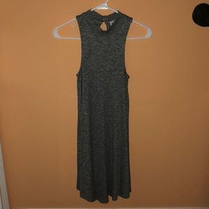Super cute heathered grey  hollister swing dress
